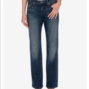 Lucky Brand Easy Rider Straight Leg Ankle Jeans